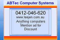 ABTec Computer Systems - Reviews , Scam RipOff Reports , Complaints and business details