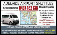 Adelaide Airport Shuttles - Reviews , Scam RipOff Reports , Complaints and business details