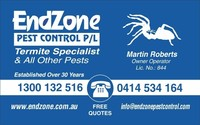 Endzone Pest Control Pty Ltd