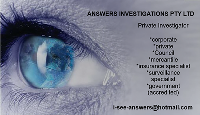 ANSWERS INVESTIGATIONS - Local Business Directory Listing