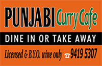 Restaurants In Collingwood - Punjabi Curry Cafe