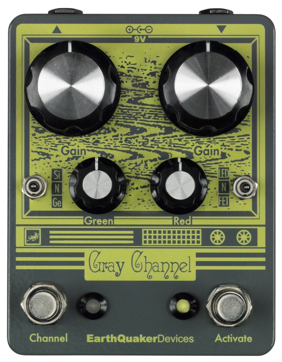 EarthQuaker Devices Gray Channel Dynamic Dirt Doubler Overdrive Pedal