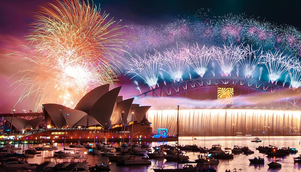 New Years Eve Sydney Harbour 2017