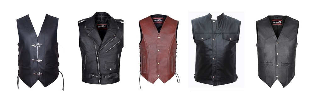 Why Bikers like to Wear a Leather Vest